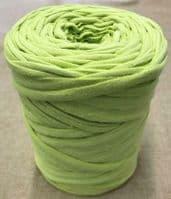 Medium T-Shirt Recycled Jersey Knitting Crochet Rug Yarn Lime